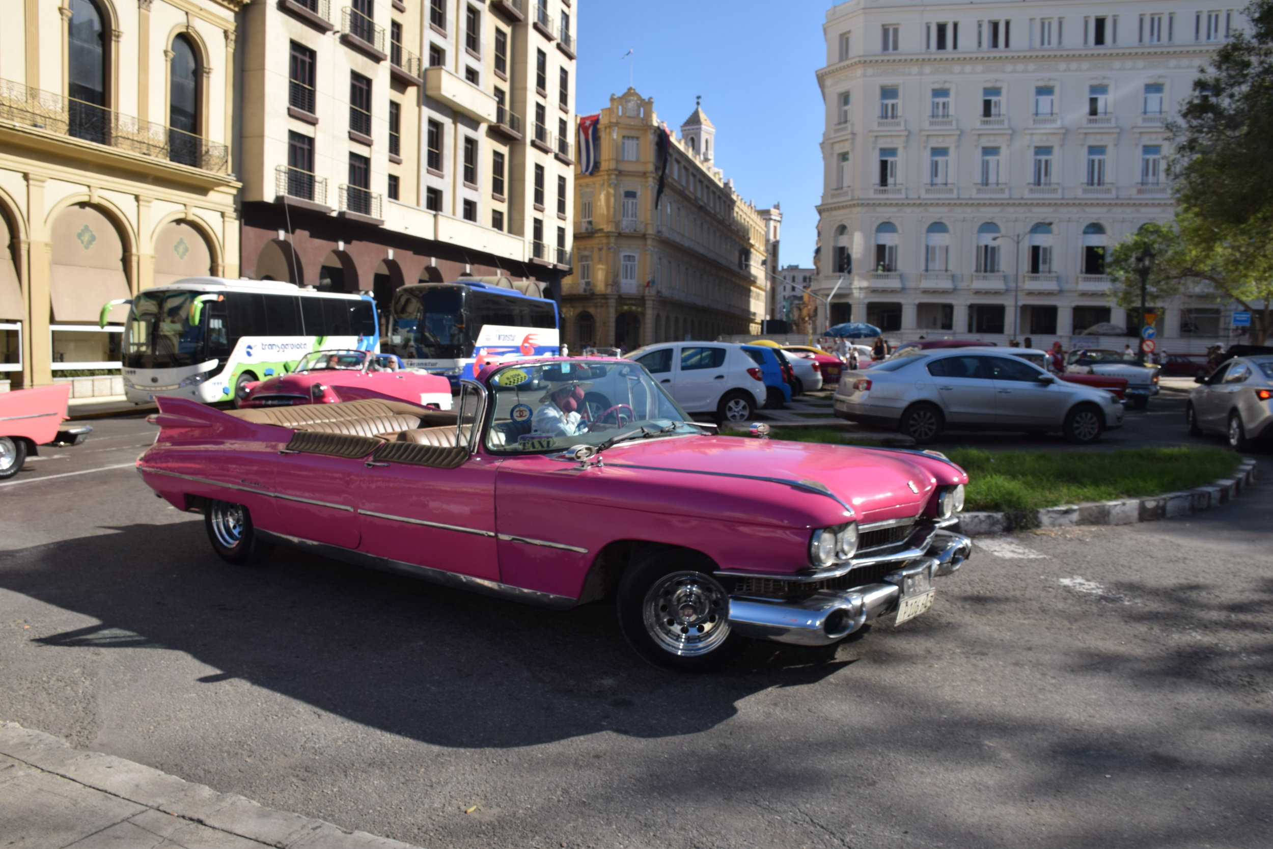 American Cars used as Taxis