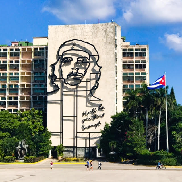 Memorial of Che at the Plaza De La Revolucion