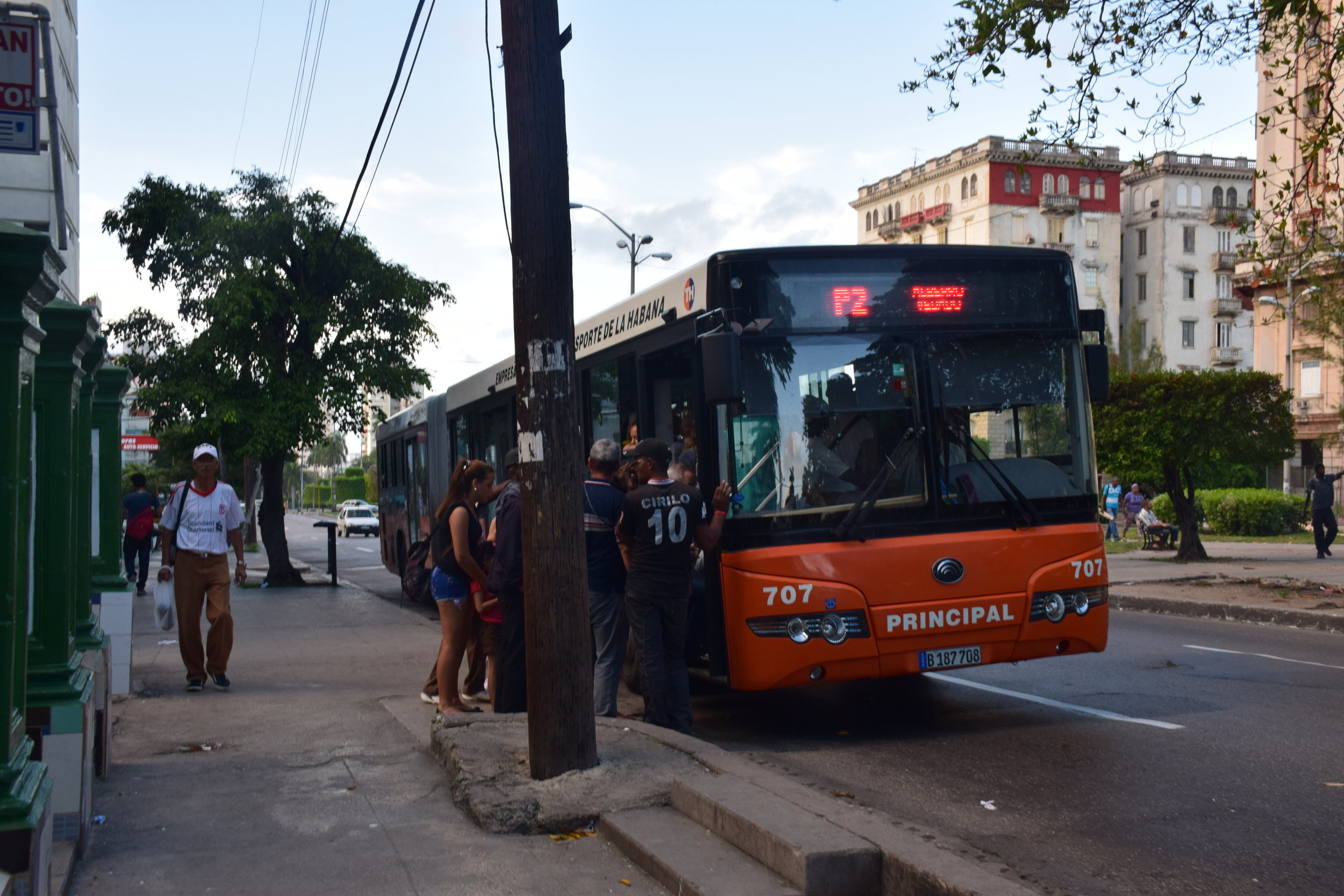 Taking the local bus is also another form of saving money trying to get around the city.