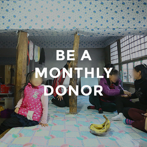 Be a Monthly Donor