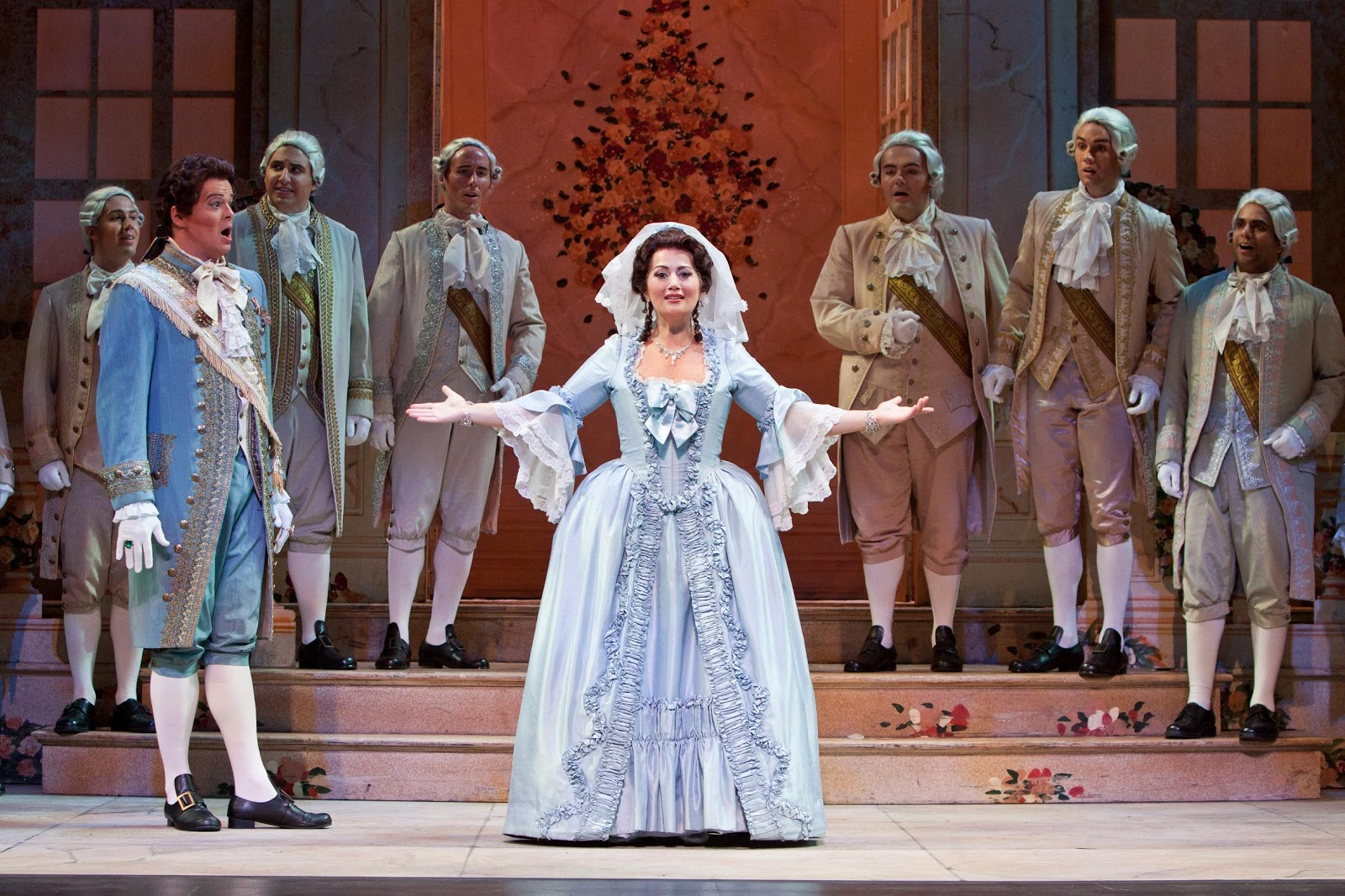 Johnson in Sarasota Opera's Cenerentola.
