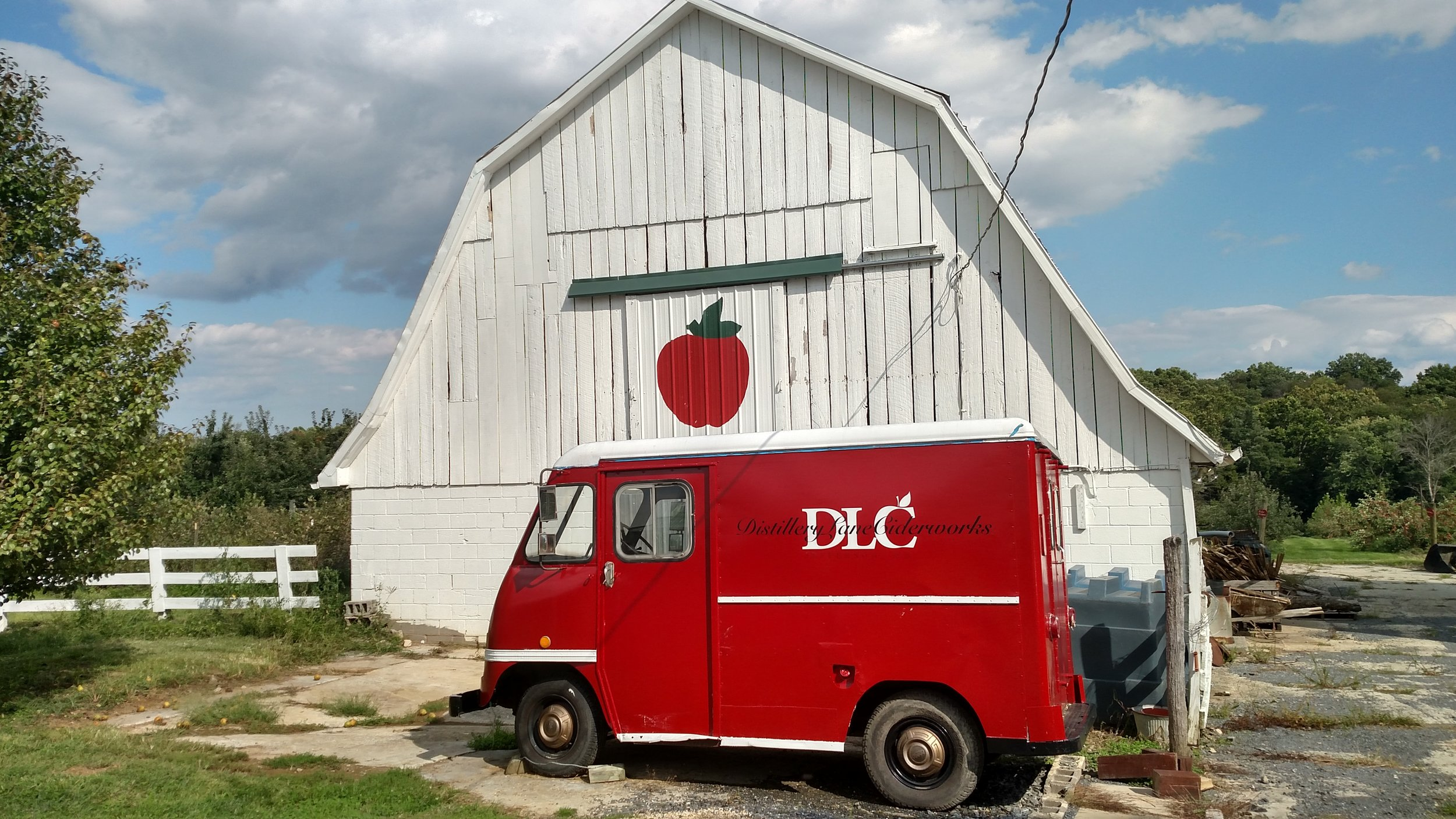 The Western Maryland cidery, Distillery Lane Ciderworks, where our tasting ciders are made!