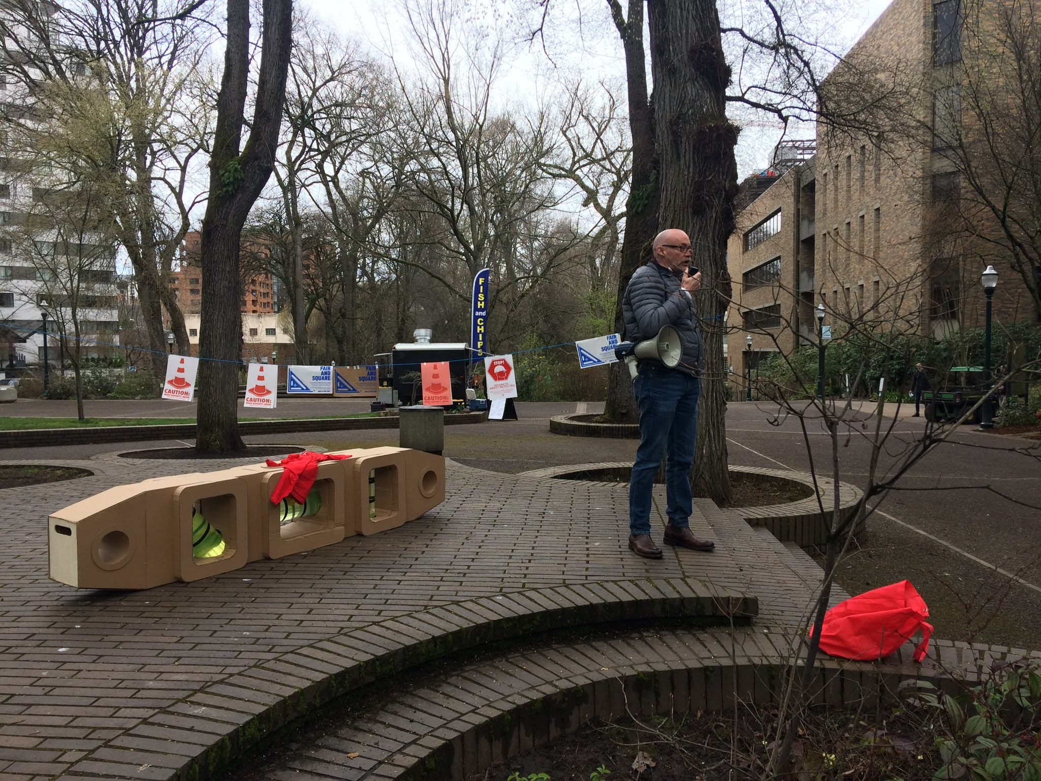 Jose Padin of AAUP said the President talked a good talk when interviewing for the job and now it's time to see if he walks the walk in support of his adjunct faculty.
