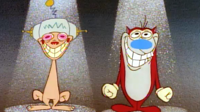 A thingy I wrote and how I learn from cartoons.    hellogiggles :      Gumdrop Lane: 5 THINGS I LEARNED FROM REN AND STIMPY     by Laura Kadner