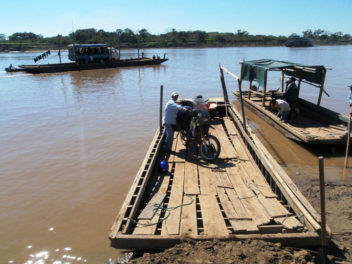 One of the 'ferry' crossings out of Trinidad, Bolivia - cjG.