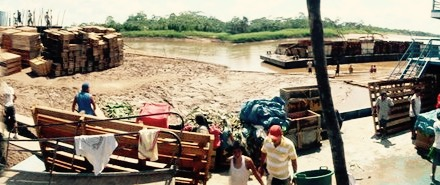 The muddy mass of humanity on the banks of the Amazon, Tarapoto - cjG