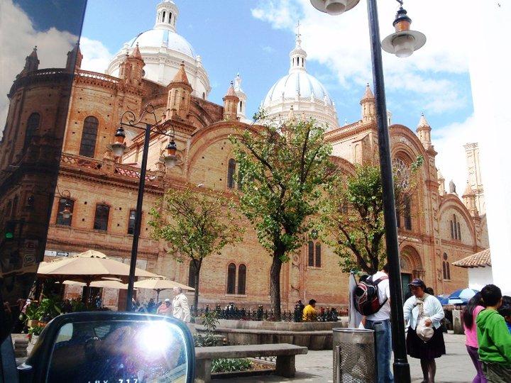 The beautiful scenery of downtown Cuenca, Ecuador - cjG