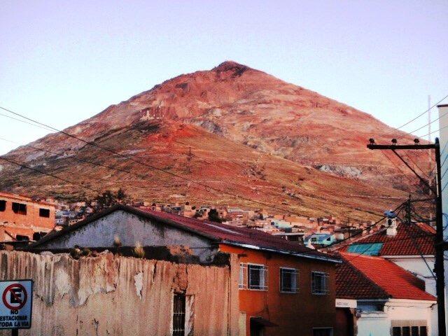 The hill that eats men, Mt Cerro Rico, Bolivia - cjG