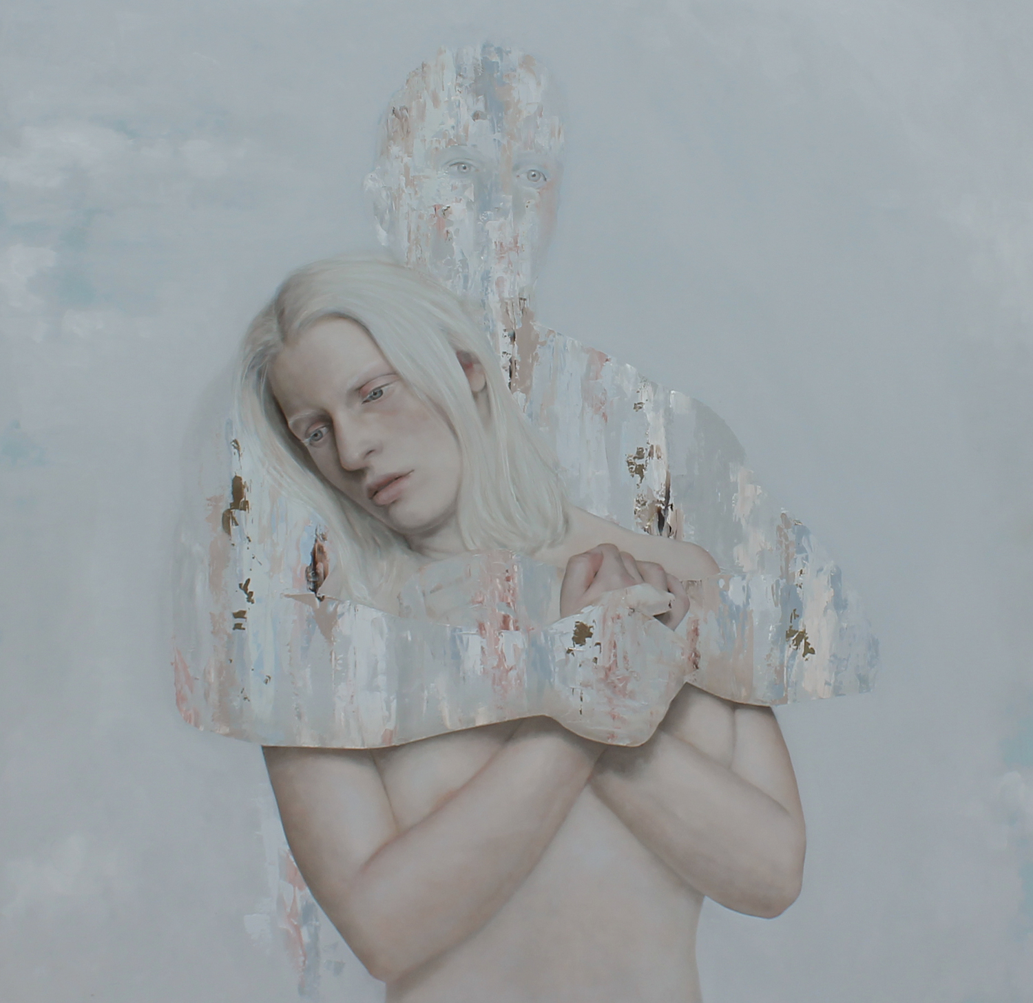 The Depature (2016). Meredith Marsone artist. From the  Abstracted Love  series.