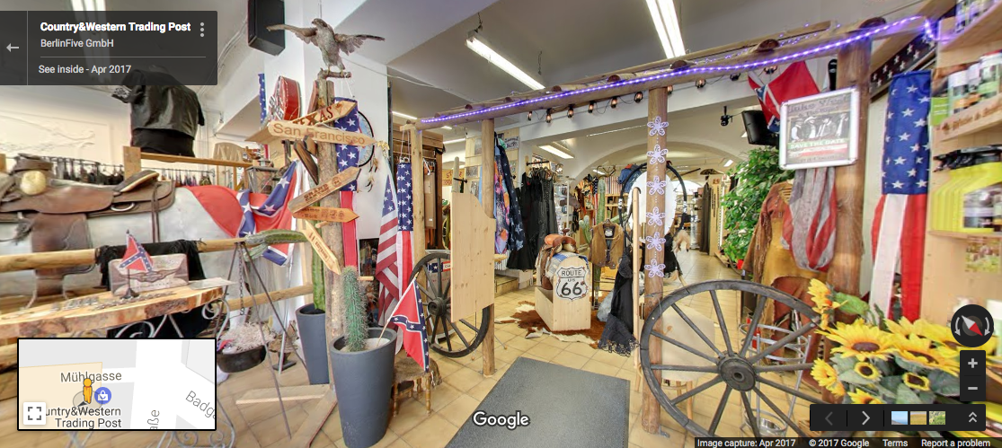 American south/midwest store in austria?
