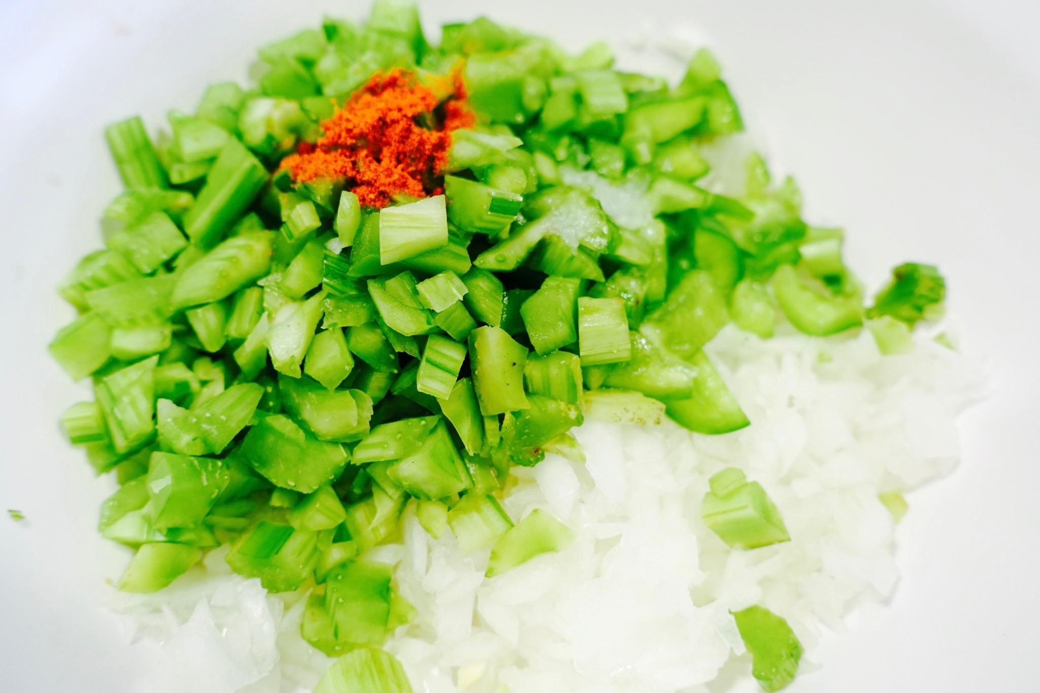 celery bell pepper cayenne