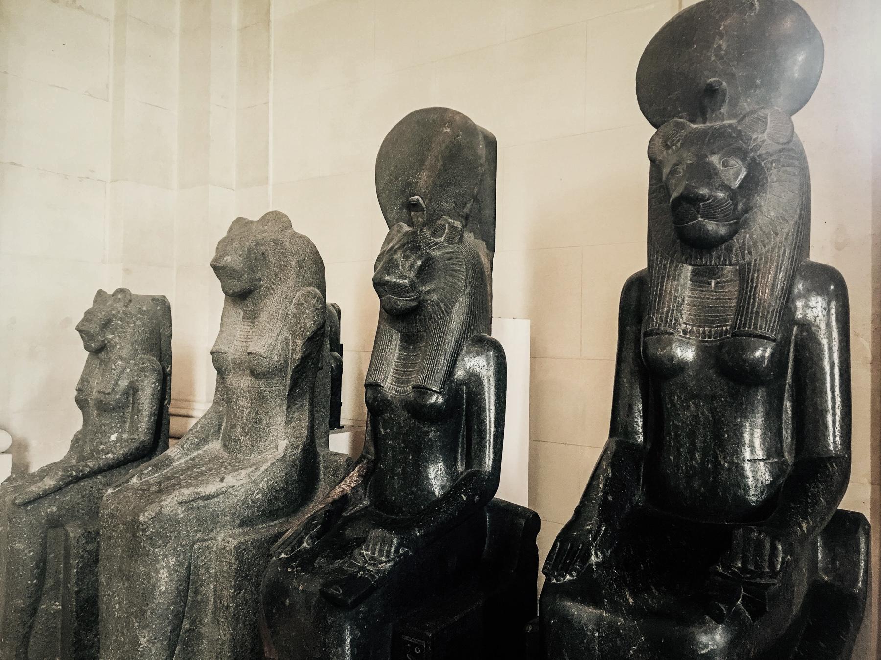 Egyptian lion goddesses