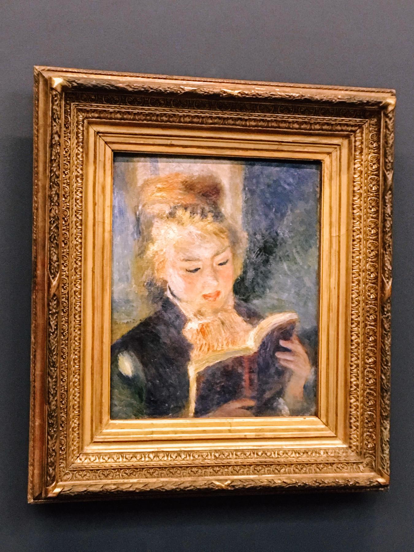 Renoir woman