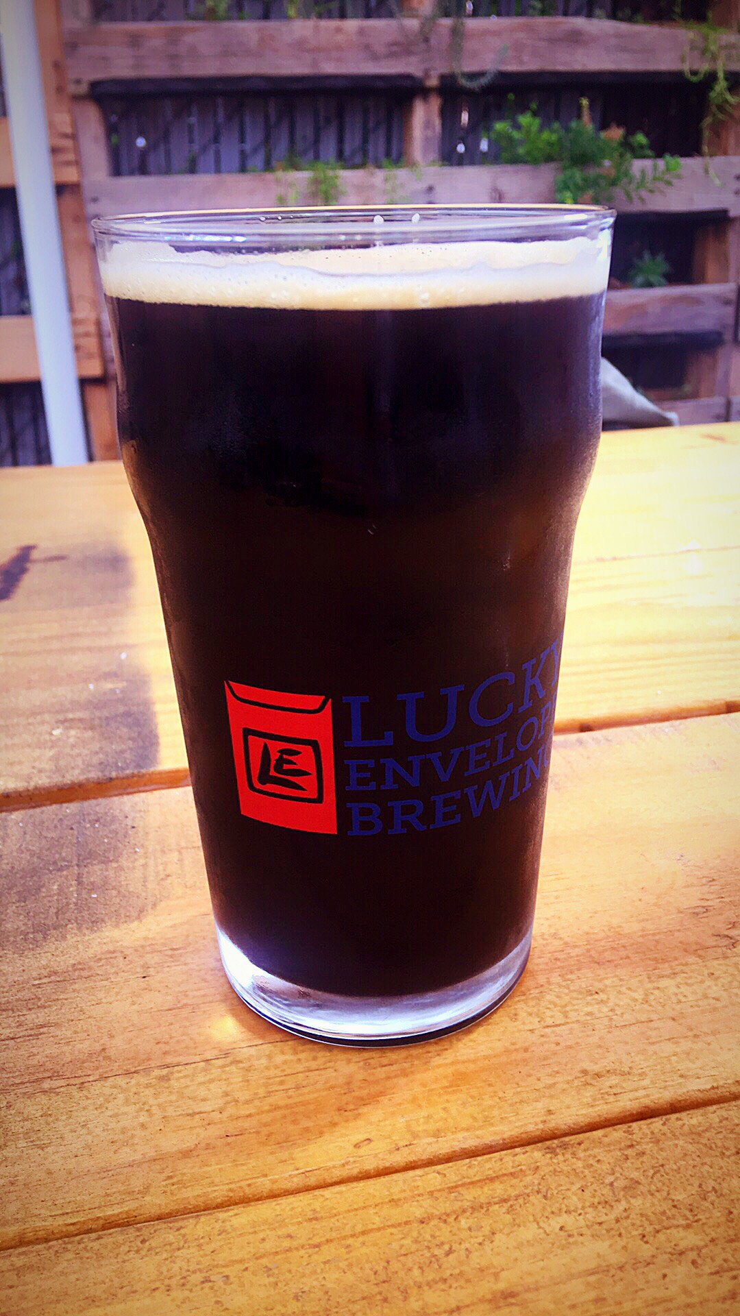 Lucky Envelope Peanut Butter Cream Stout