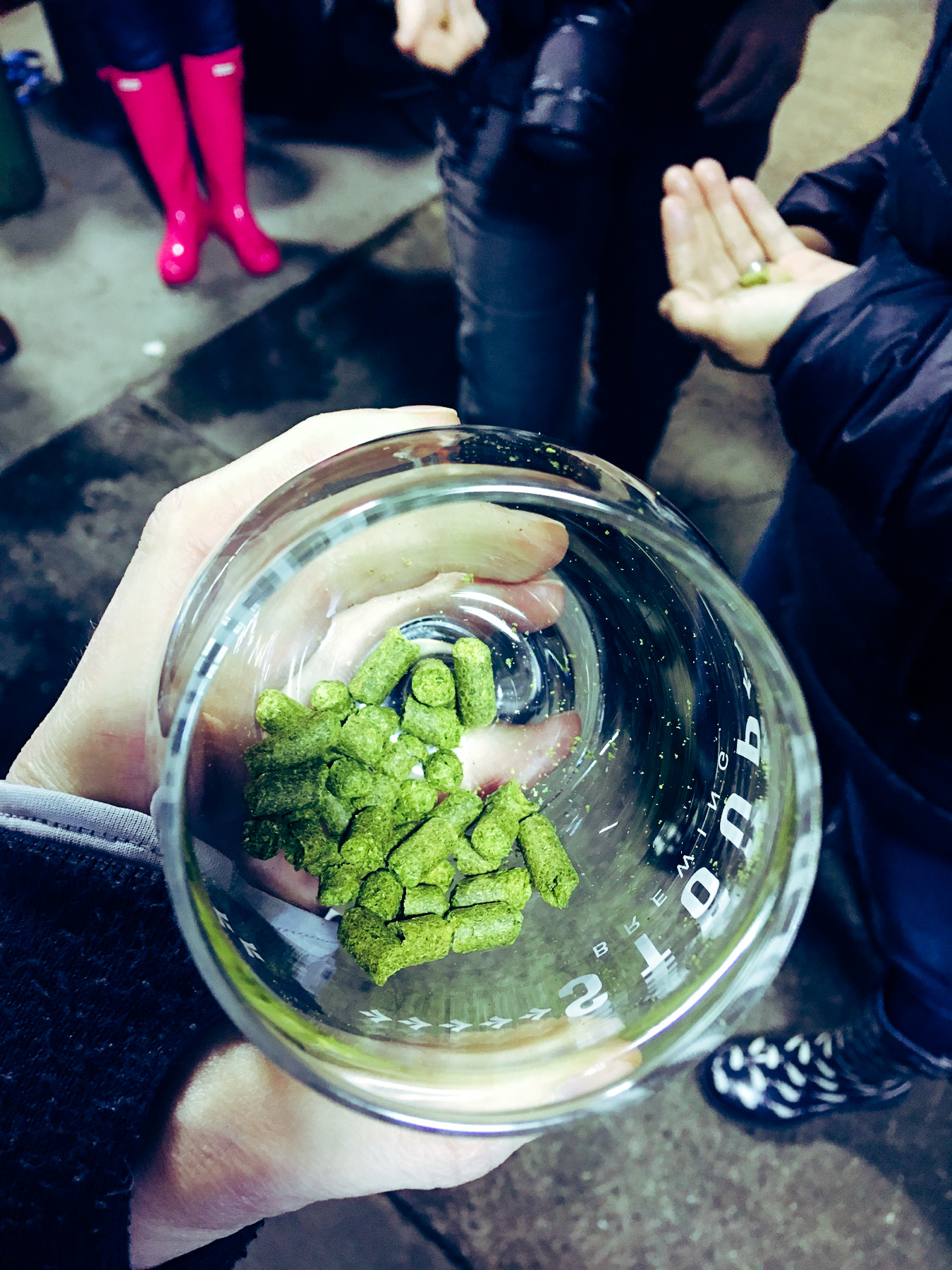 Hops stoup brew day pink boots