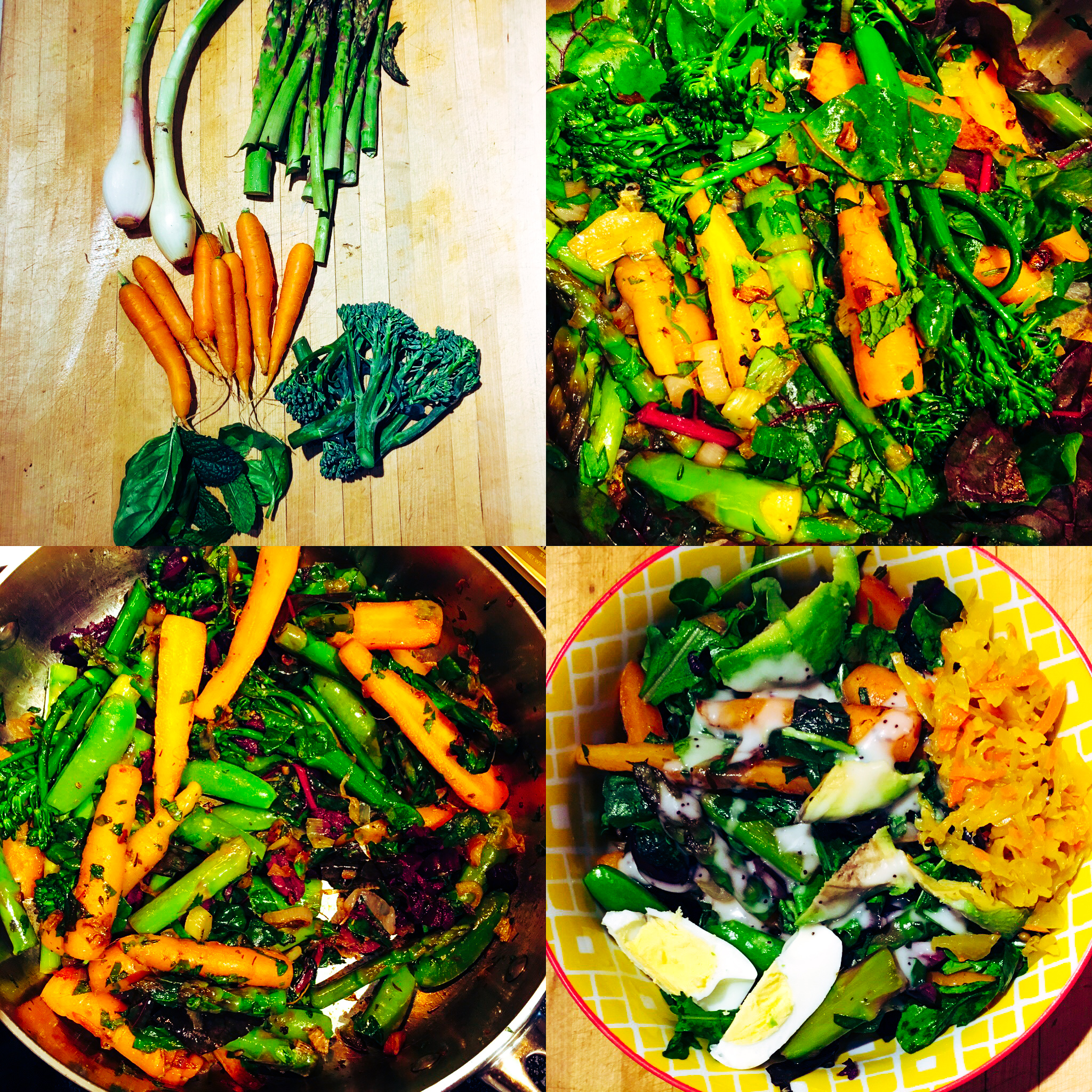 spring vegetable bowl