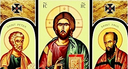 O St. Peter and St. Paul, pray for us.