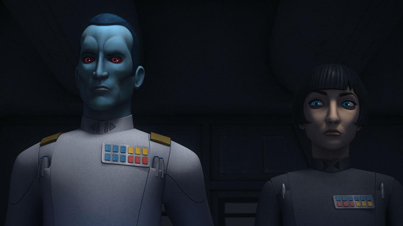 Thrawn and Governor Pryce.