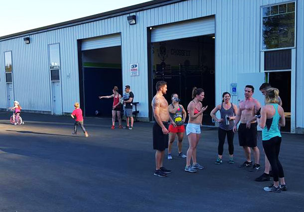 Narrows Crossfit Open Gym