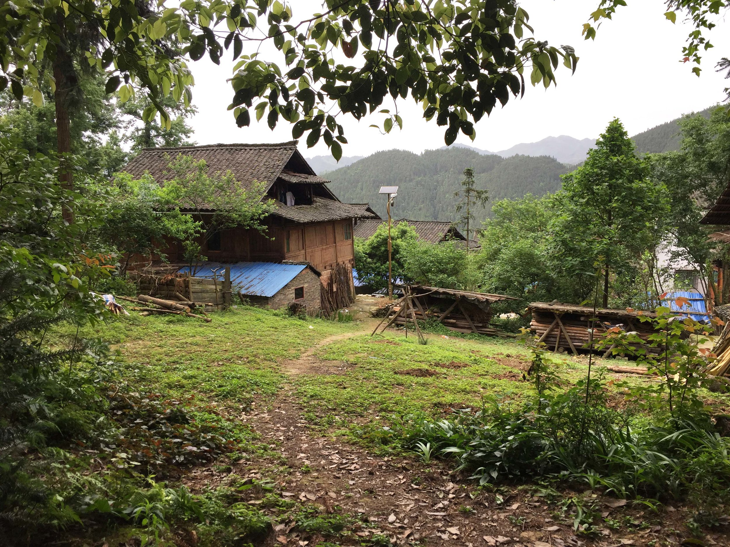 Zhanliu village. Such an idyllic view