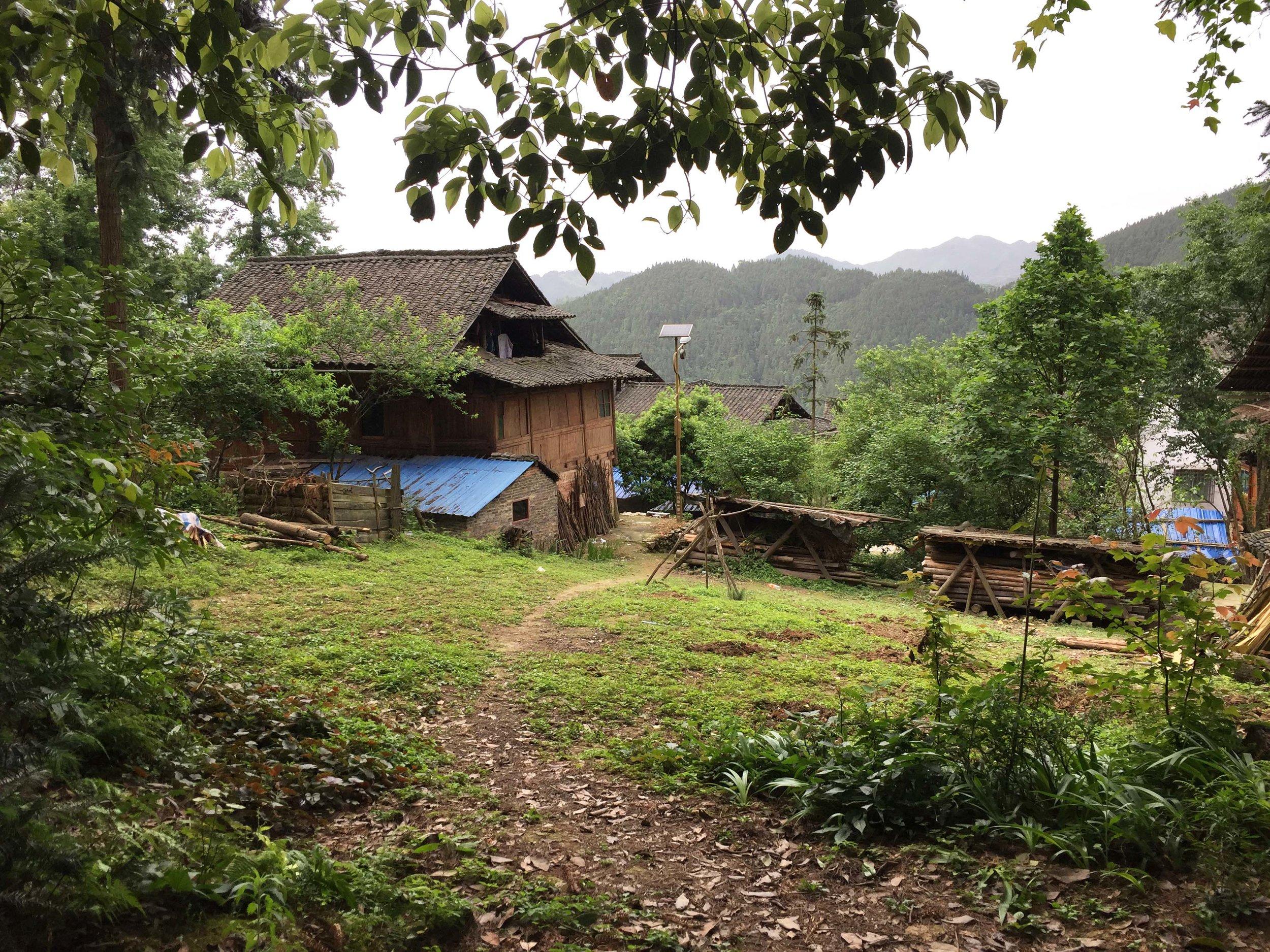 Zhanliu village. Such an idyllic view
