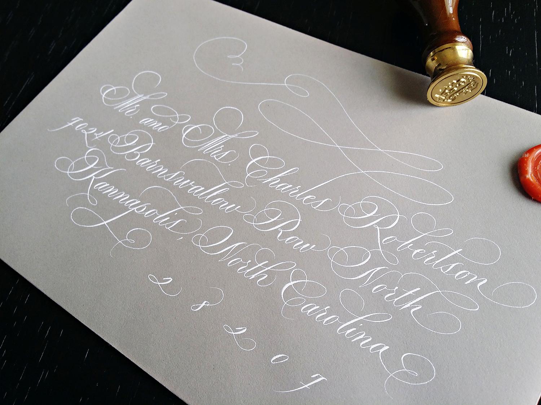 Grace Edmands Calligraphy - Portfolio 1