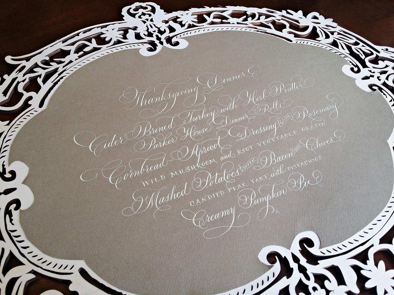 Grace Edmands Calligraphy - Portfolio 7