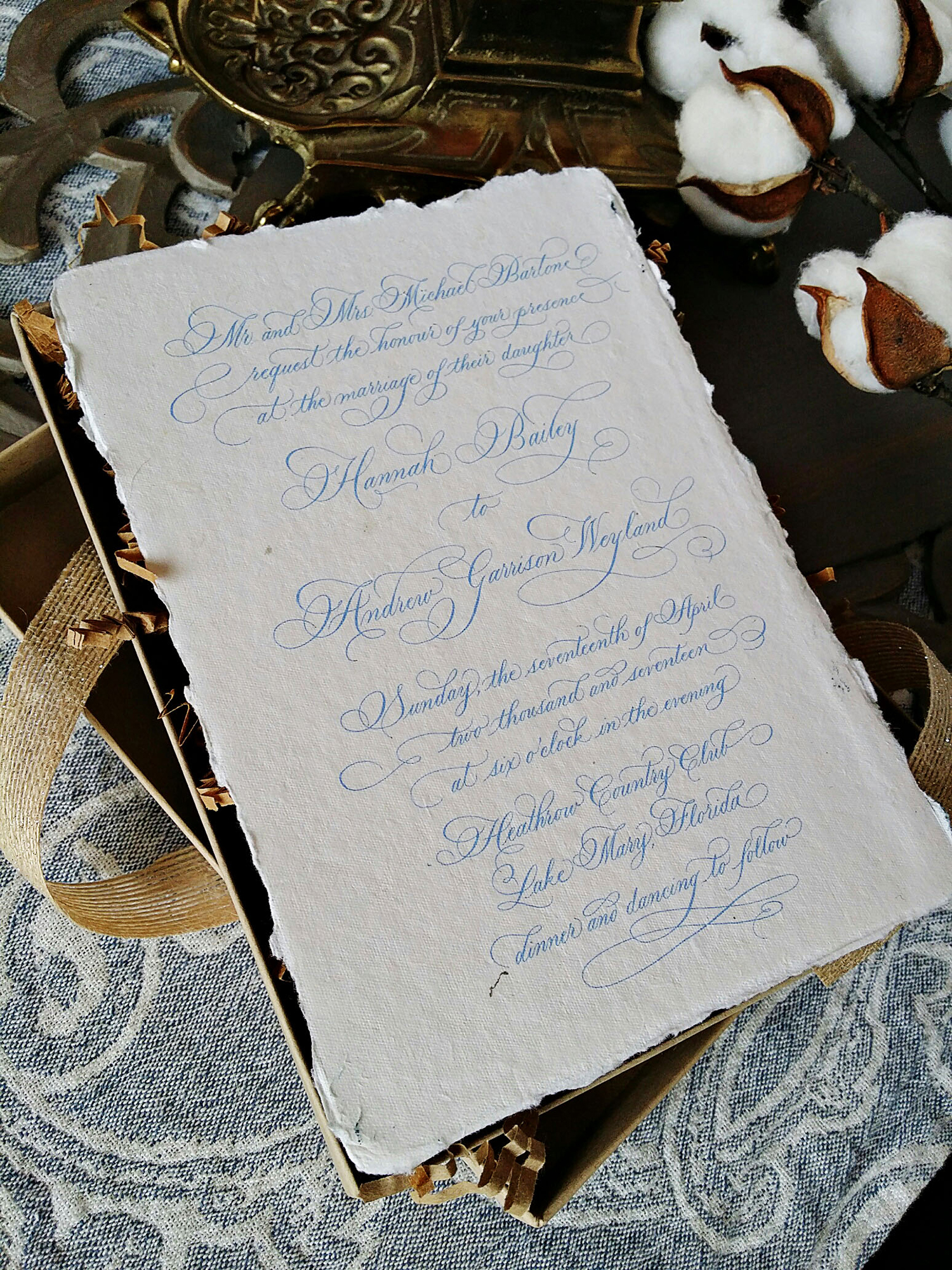 Grace Edmands Calligraphy - Portfolio 6
