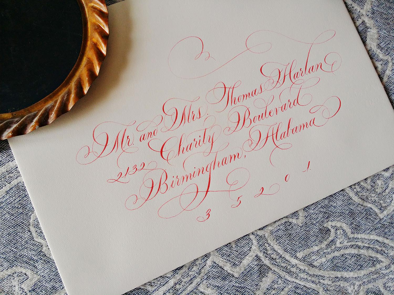 Grace Edmands Calligraphy - Portfolio 10