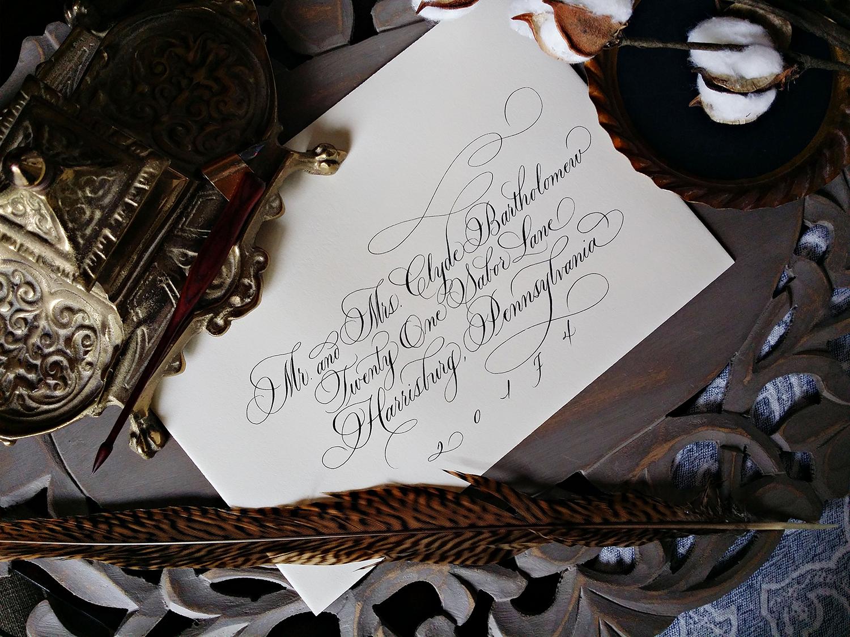 Grace Edmands Calligraphy - Portfolio 12