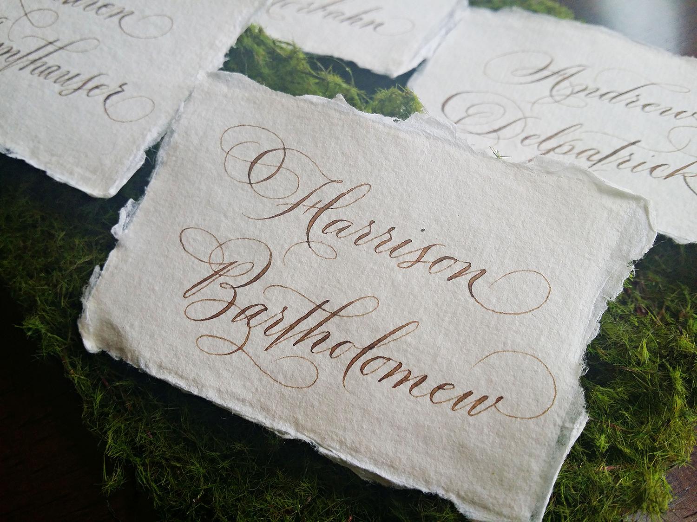 Grace Edmands Calligraphy - Portfolio 13