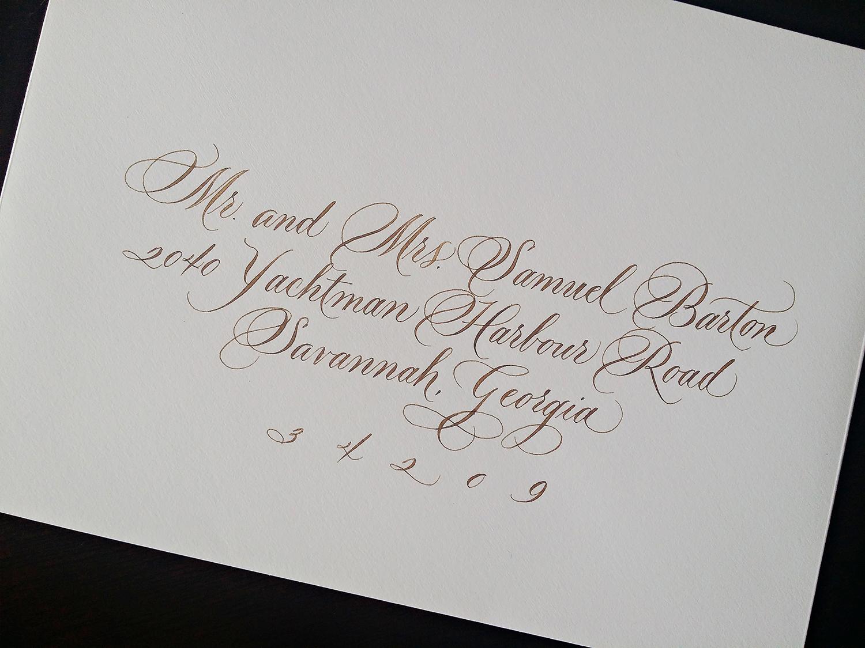 Grace Edmands Calligraphy - Portfolio 15