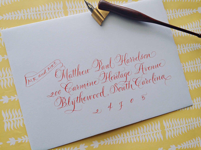 Grace Edmands Calligraphy - Portfolio 17