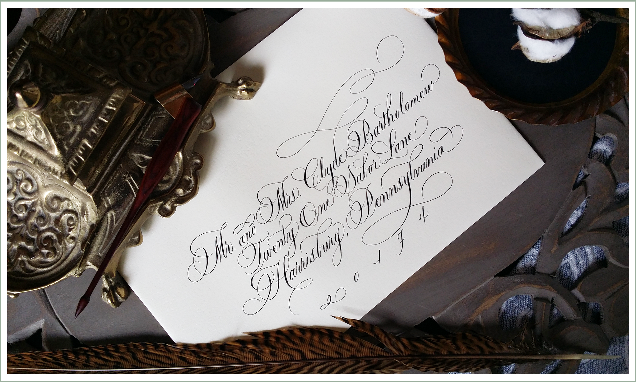 Grace Edmands Calligraphy - Home