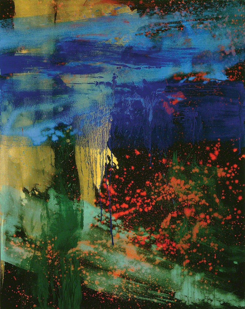 Painting: Makoto Fujimura,  Charis Kairos  (The Tears of Christ), 2014