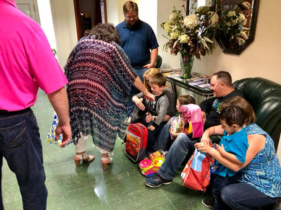Gifts for the missionary kids