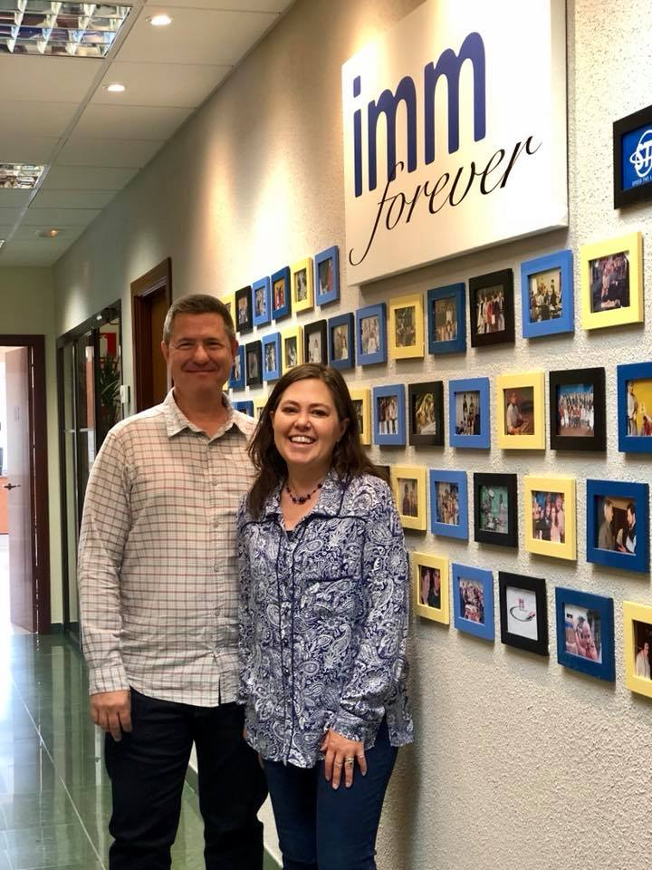 Kerry & Denise Godwin (& the IMM Forever Wall)