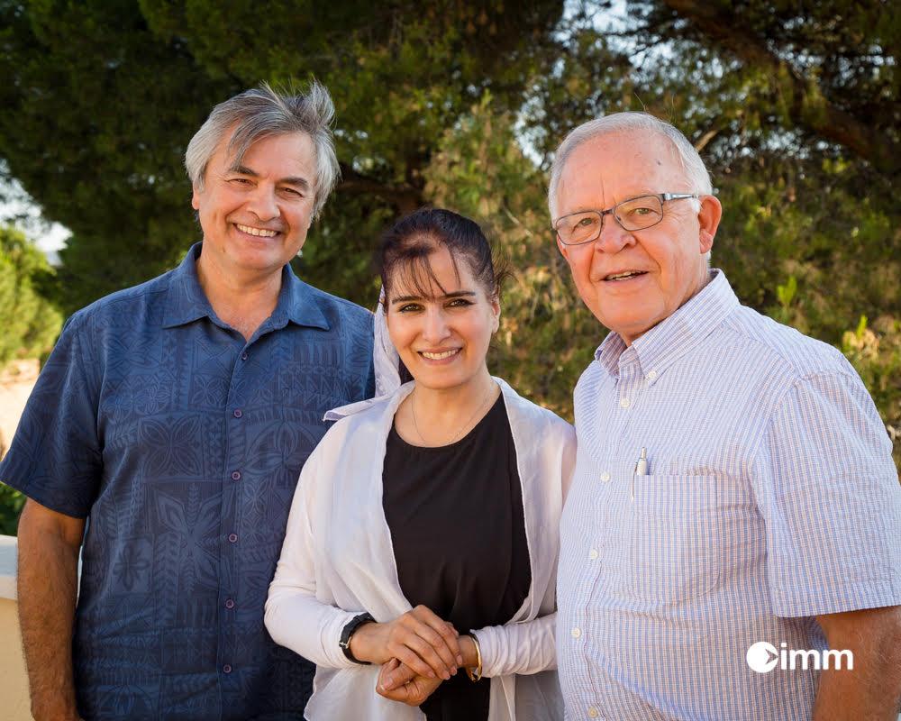 Dr. Brown, Shahla, and Dr. Fraser