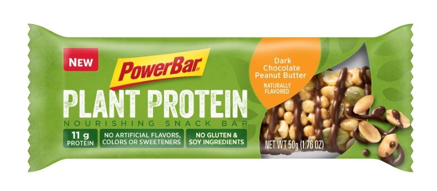 ▲  PowerBar  的  Plant Protein  产品图(图片来源: PowerBar  官网)