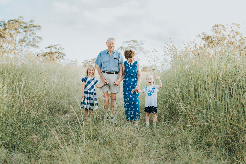 Grandparents with grandchildren | Sirromet Winery | Lightsmith Images