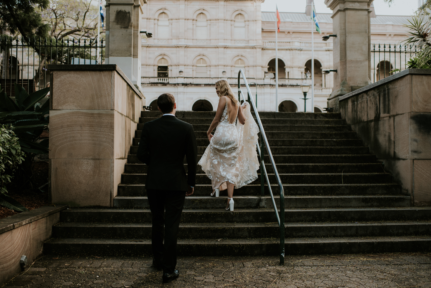 Brisbane Wedding Photographer | Engagement-Elopement Photography | Factory51-City Botantic Gardens Wedding-53.jpg