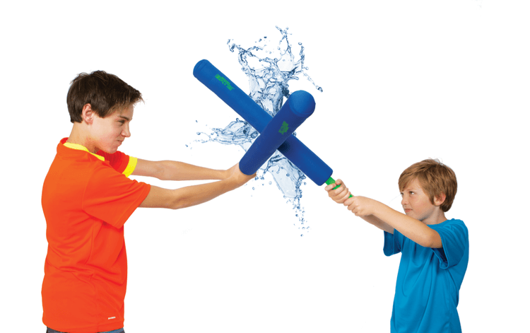 Aqua Battle Splash Chucks Soaking Water Wet Mini Bow Mega Bow Thor's hammer Pool Toys Battle Axe Long Bomber Aqua Bombs Fun active safe
