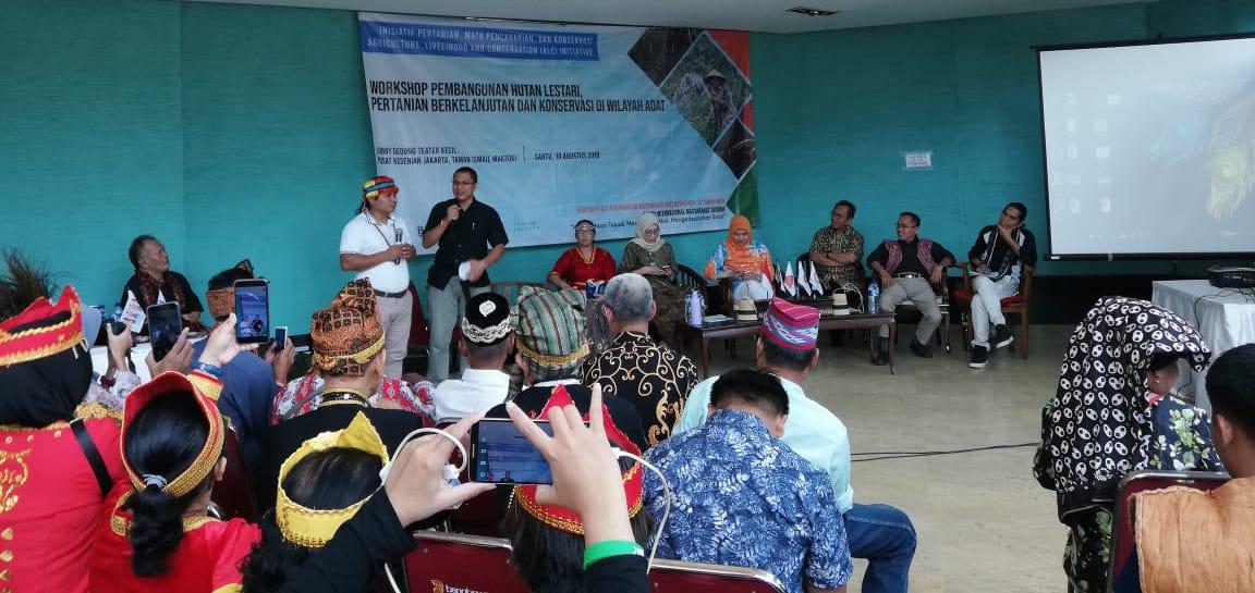 Intervención de Tuntiak Katán, vice-presidente de la COICA, en el foro «Desarrollo forestal sostenible agricultura sostenible y conservación en territorios indígenas».