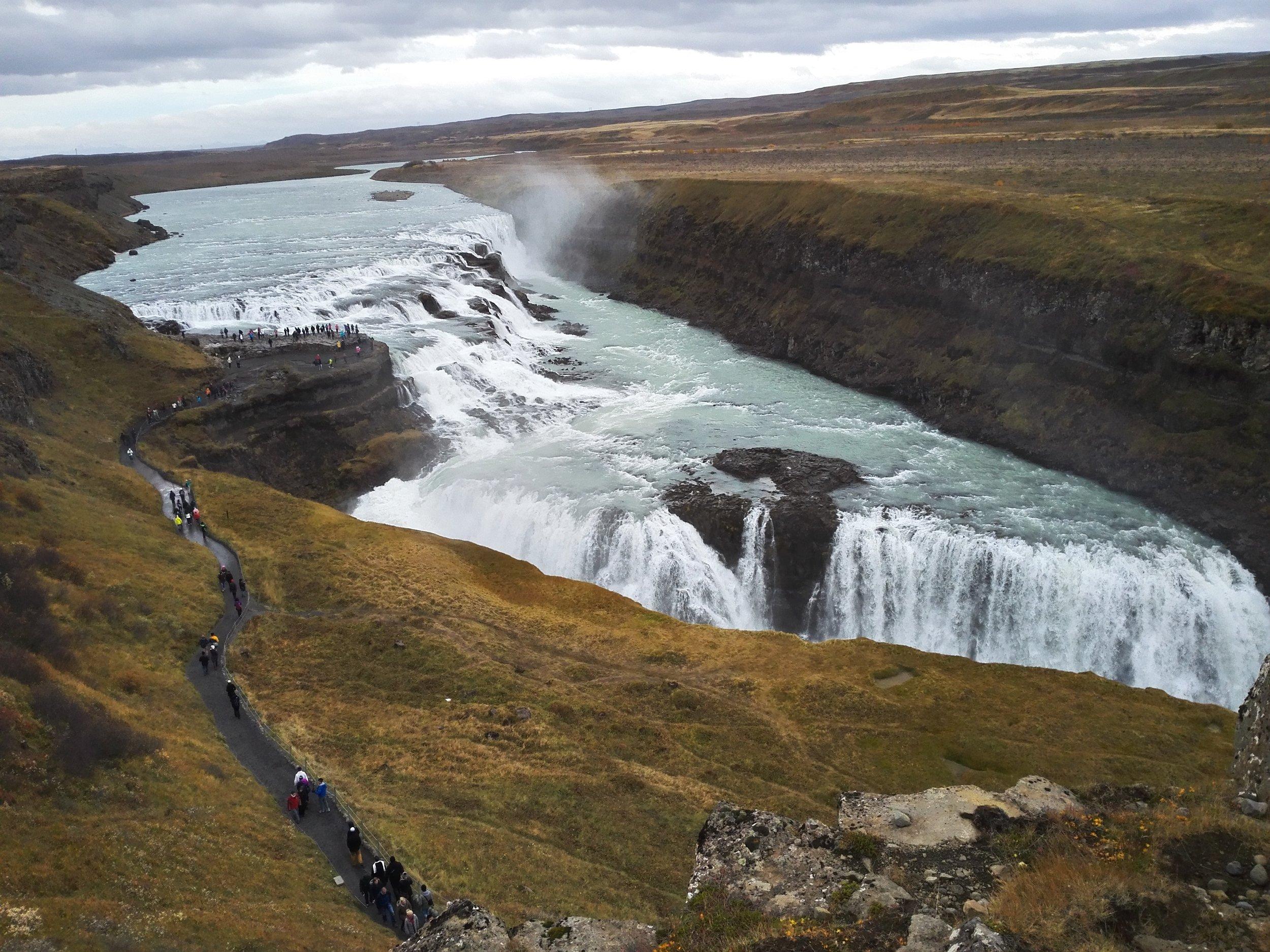 Gullfoss Waterfall, Golden Circle, Iceland