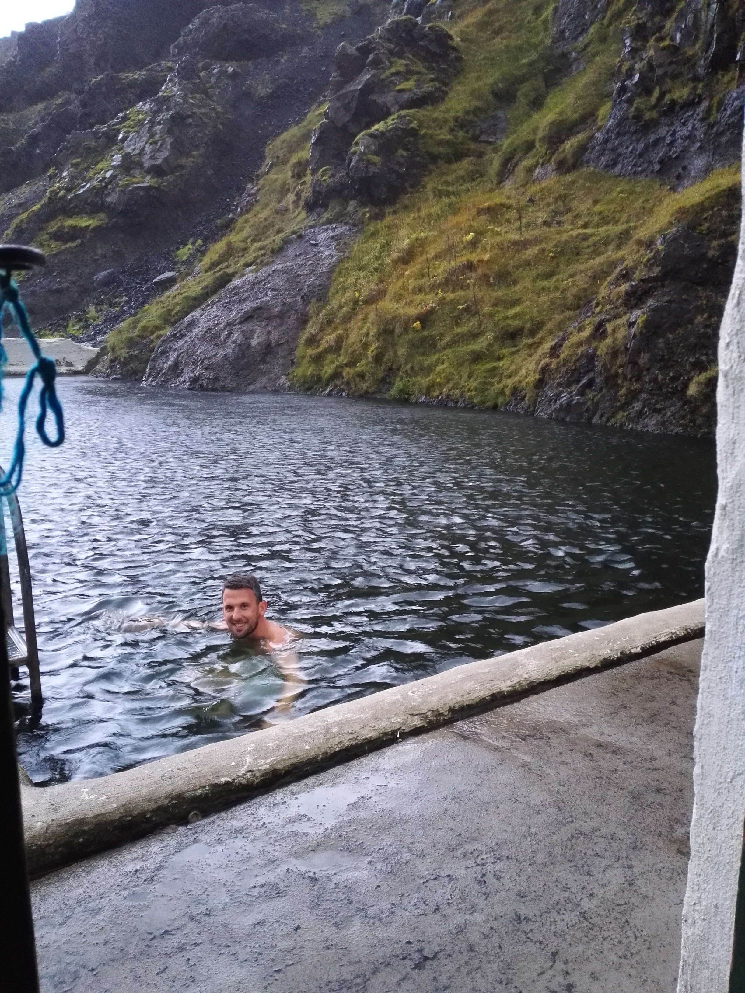 Seljavellir hot springs