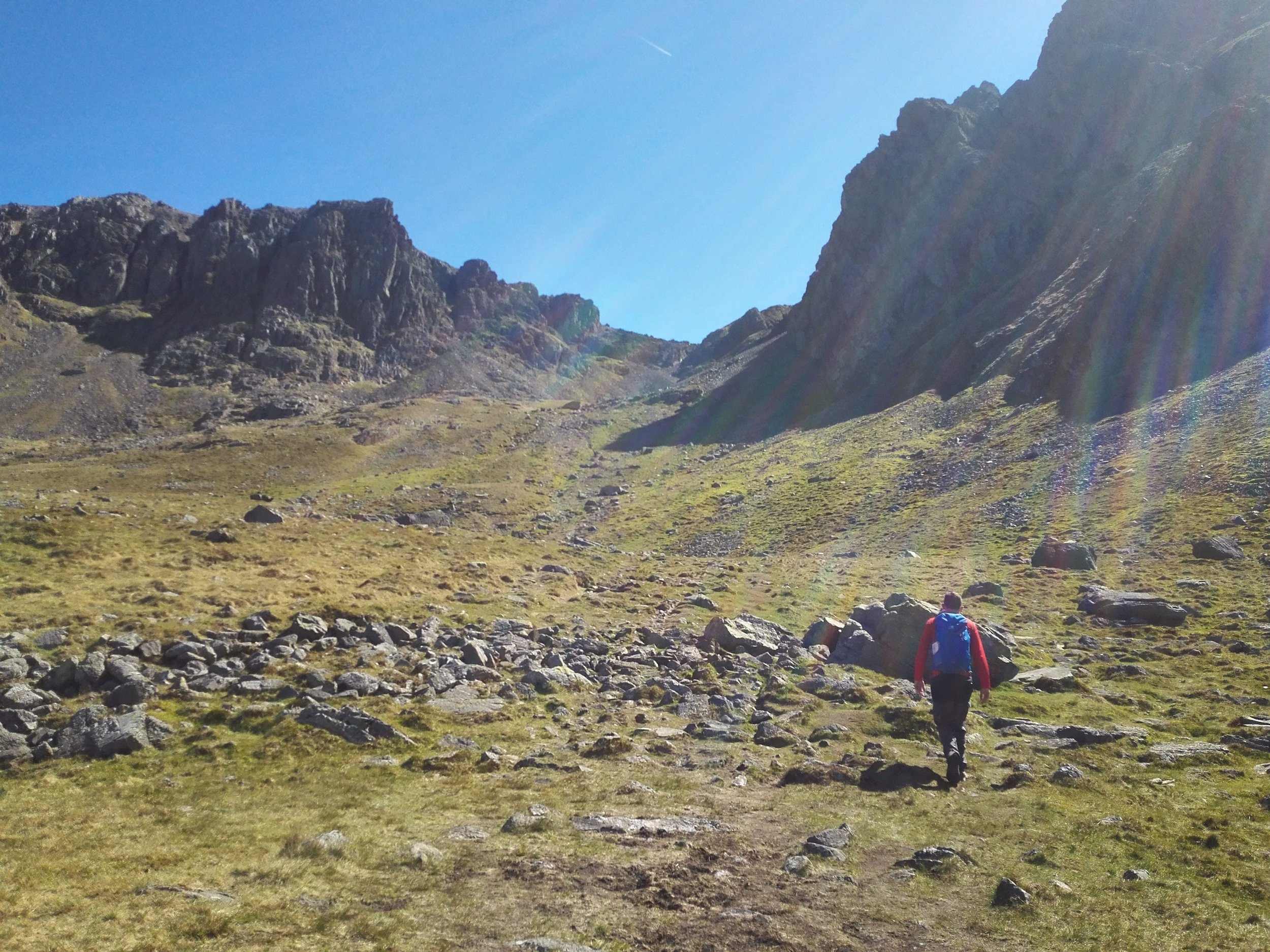 Mickeldore route up Scafell Pike