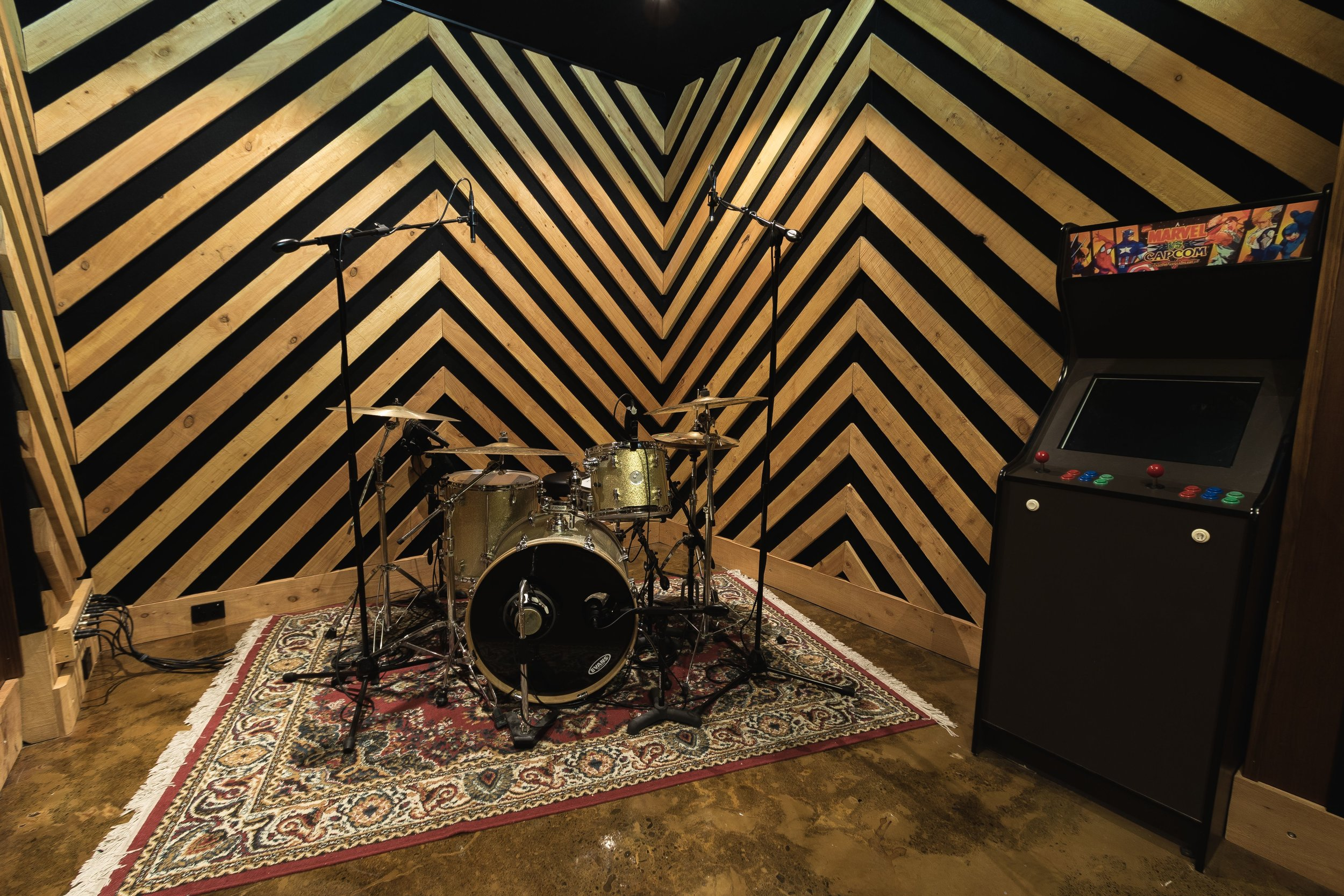 Drum Tight End at The Armoury Recording Studio