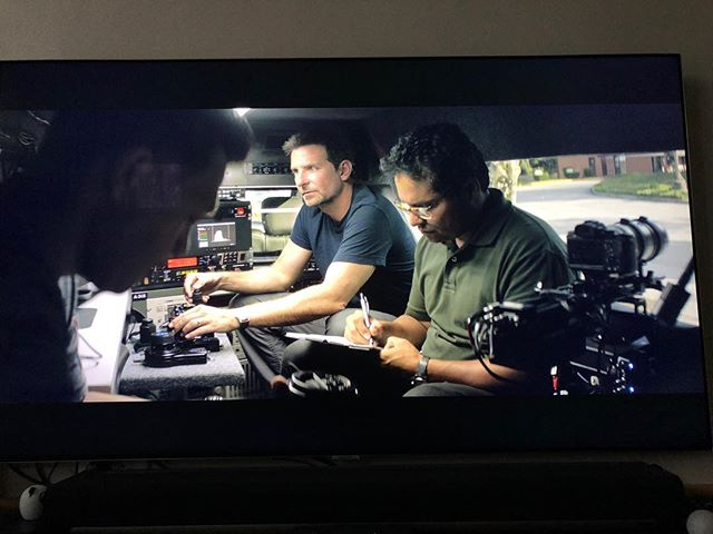 "Cool seeing Bradley Cooper using the Kessler Second Shooter and DCC in several scenes of the new Clint Eastwood movie ""The Mule"""