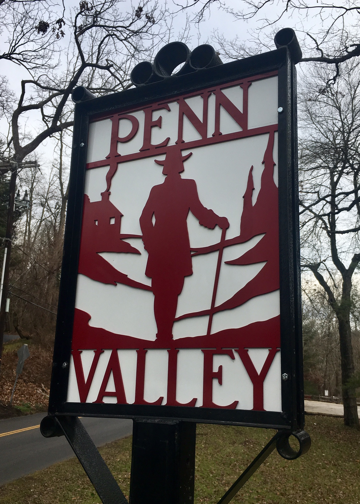 PVCA owns and cares for historic Penn Valley signs located at entrances to our neighborhood. Your dues helped to fund brand new, white aluminum, powder coated backings to replace deteriorating older ones. Thanks to LMTS Public Works for installing them in January.