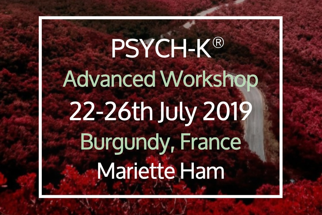 PSYCH-K® Advanced Workshop - 22 Jul, 2019 17:30 - 26 Jul, 2019 17:30Ferme du Chateau de LaSalle (map)